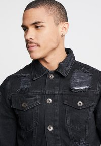 Redefined Rebel - JASON JACKET - Veste en jean - lava stone - 4