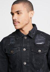 Redefined Rebel - JASON JACKET - Denim jacket - lava stone - 4