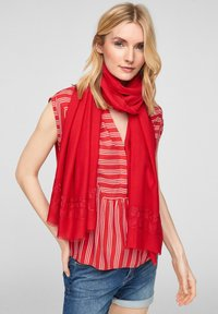 s.Oliver - Scarf - red - 1