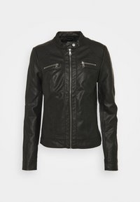 ONLY Tall - ONLBANDIT BIKER - Faux leather jacket - black - 0