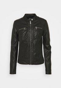 ONLBANDIT BIKER - Faux leather jacket - black