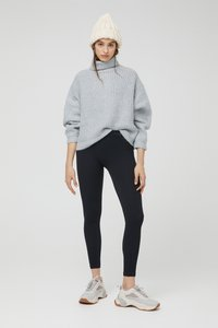 PULL&BEAR - Leggings - Trousers - black - 0
