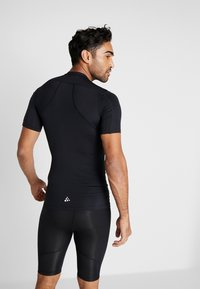 Craft - PRO CONTROL COMPRESSION TEE - T-Shirt print - black - 2