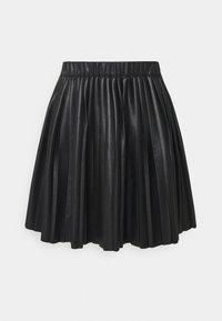 Monki - YANNI PLEATED SKIRT - A-line skjørt - black - 0