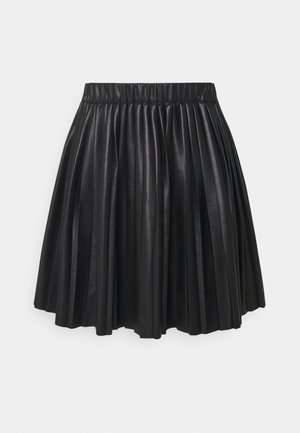 YANNI PLEATED SKIRT - A-line skirt - black