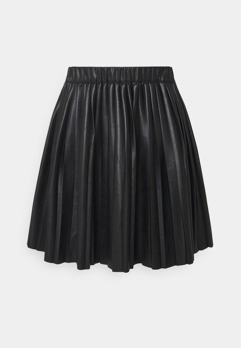 Monki - YANNI PLEATED SKIRT - A-line skjørt - black