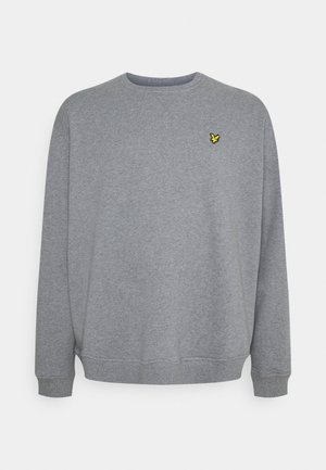 CREW NECK - Sweatshirt - mid grey marl