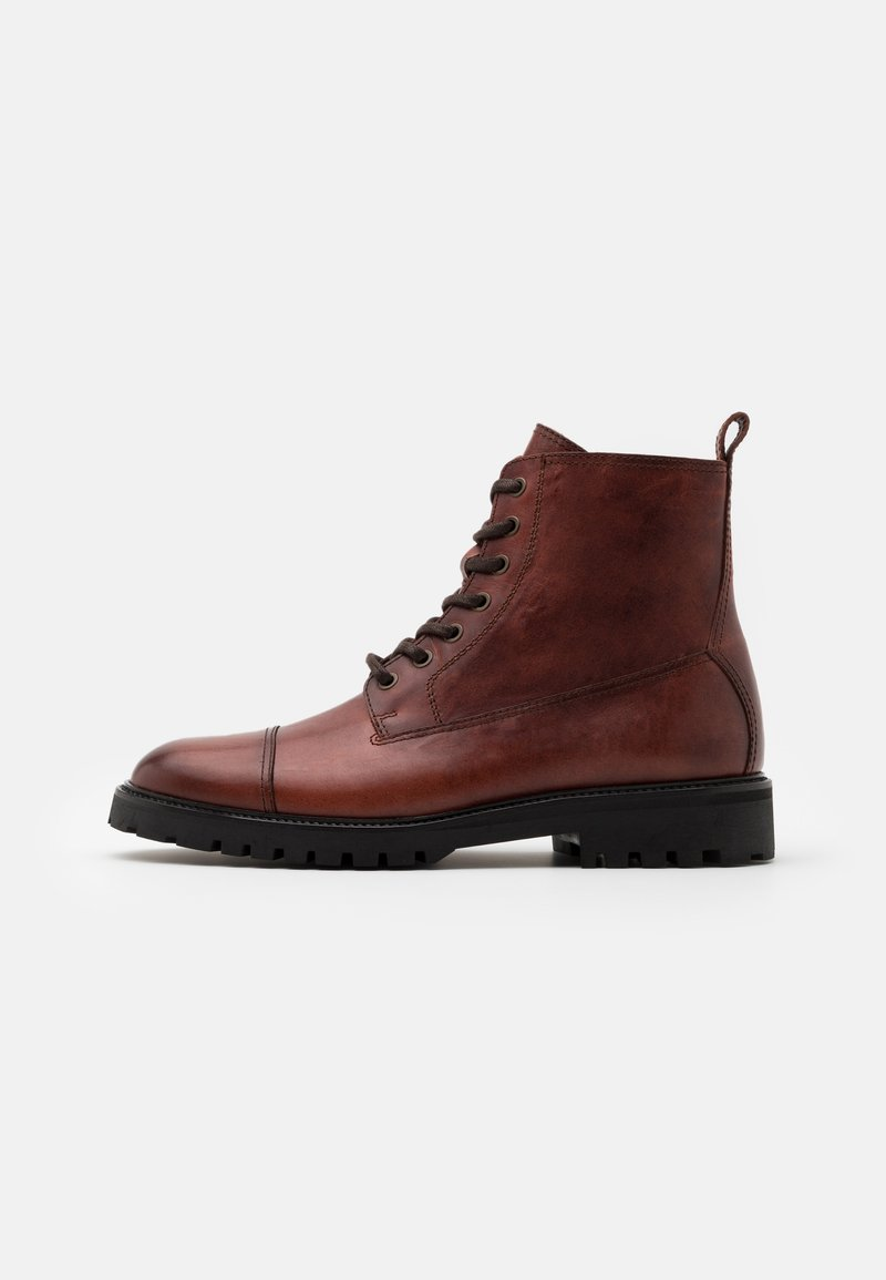 Belstaff - ALPERTON - Lace-up ankle boots - whiskey