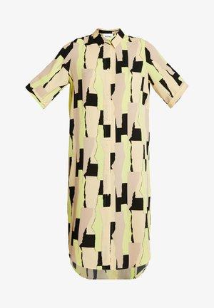 DAMIRA SHIRTDRESS - Košilové šaty - tornpaper