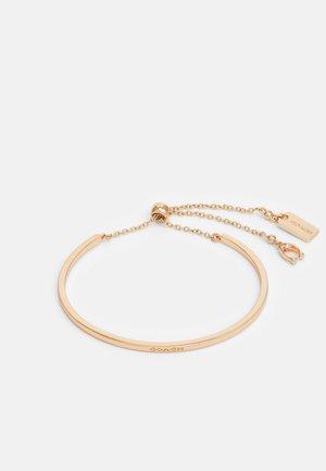 SLIDER BANGLE - Bracelet - rose gold-coloured