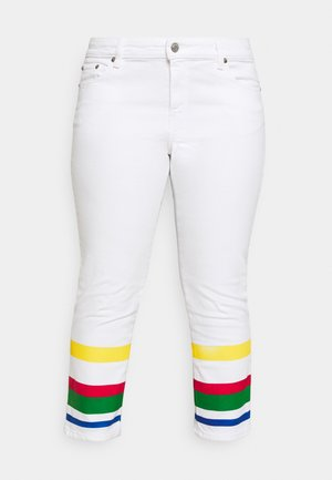 MIDRS 5 POCKET - Slim fit jeans - white