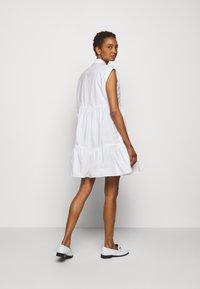 Claudie Pierlot - RICATI - Shirt dress - blanc - 2