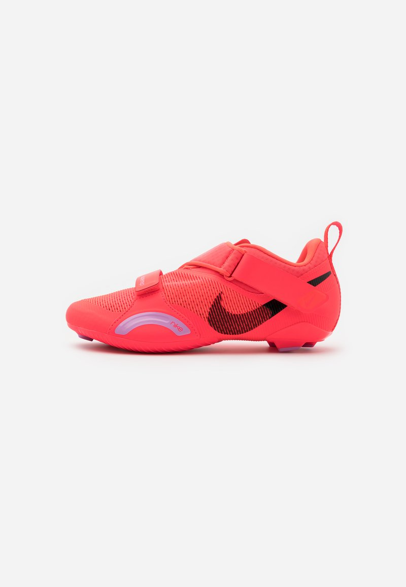 Nike Performance - SUPERREP CYCLE - Cycling shoes - flash crimson/black/beyond pink