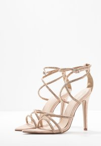 BEBO - SAVANNAH - High heeled sandals - nude - 4