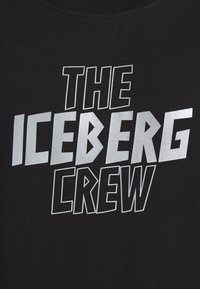 Iceberg - THE CREW - Print T-shirt - nero - 5