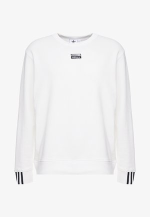 R.Y.V. CREW LONG SLEEVE PULLOVER - Collegepaita - core white