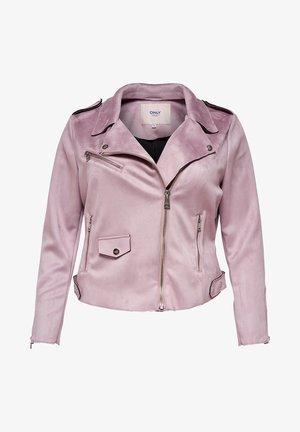 CARSHERRY BONDED - Faux leather jacket - keepsake lilac