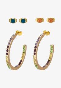 Earrings - gold-coloured/blush