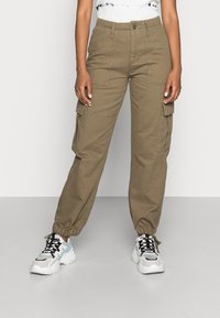 BDG Urban Outfitters - AUTHENTIC CARGO PANT - Cargo trousers - khaki - 0