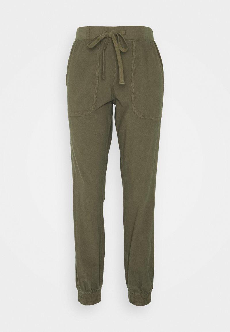 Kaffe - NAYA PANTS - Trousers - grape leaf