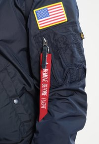 Alpha Industries - NASA REVERSIBLE II - Bomberjacka - blue - 8