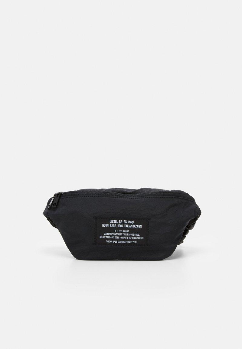 Diesel - SUSEGANA F-SUSE BELT DZ BELT BAG - Bæltetasker - black