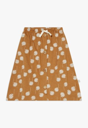 A-line skirt - bone brown
