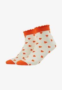Becksöndergaard - DAGMAR HEARTS SOCK 2 PACK - Socken - orange - 1