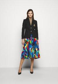 Lauren Ralph Lauren - SKIRT - Pleated skirt - black/multi - 1