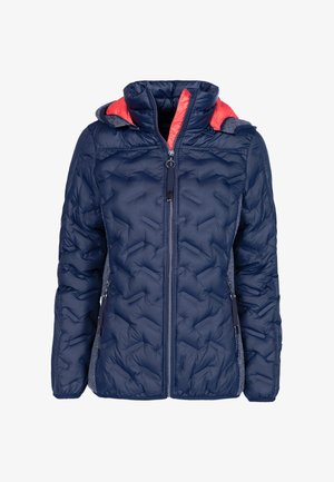 Down jacket - dunkelblau