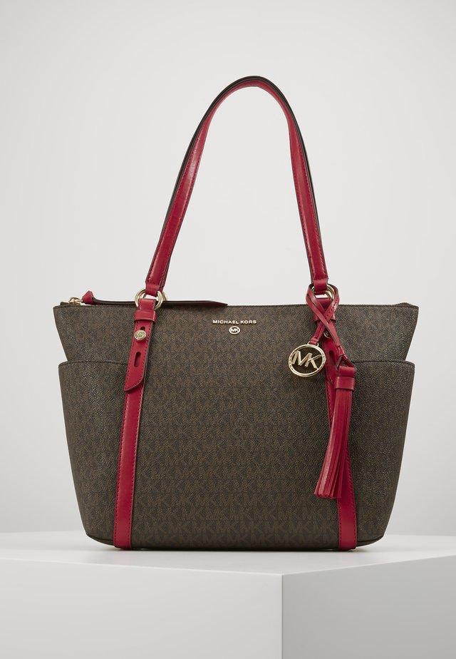 SEMI LUX - Handbag - dark raspberry