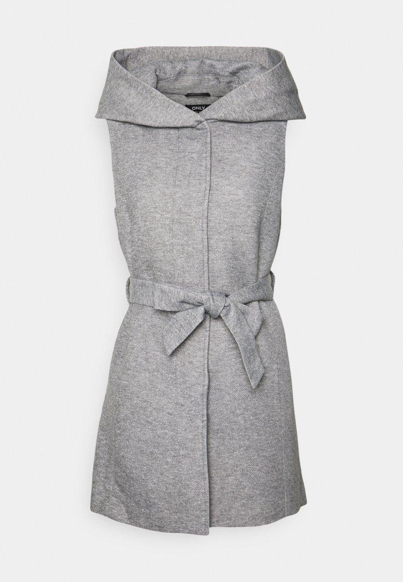 ONLY - ONLSEDONA LIGHT WAISTCOAT - Waistcoat - light grey melange