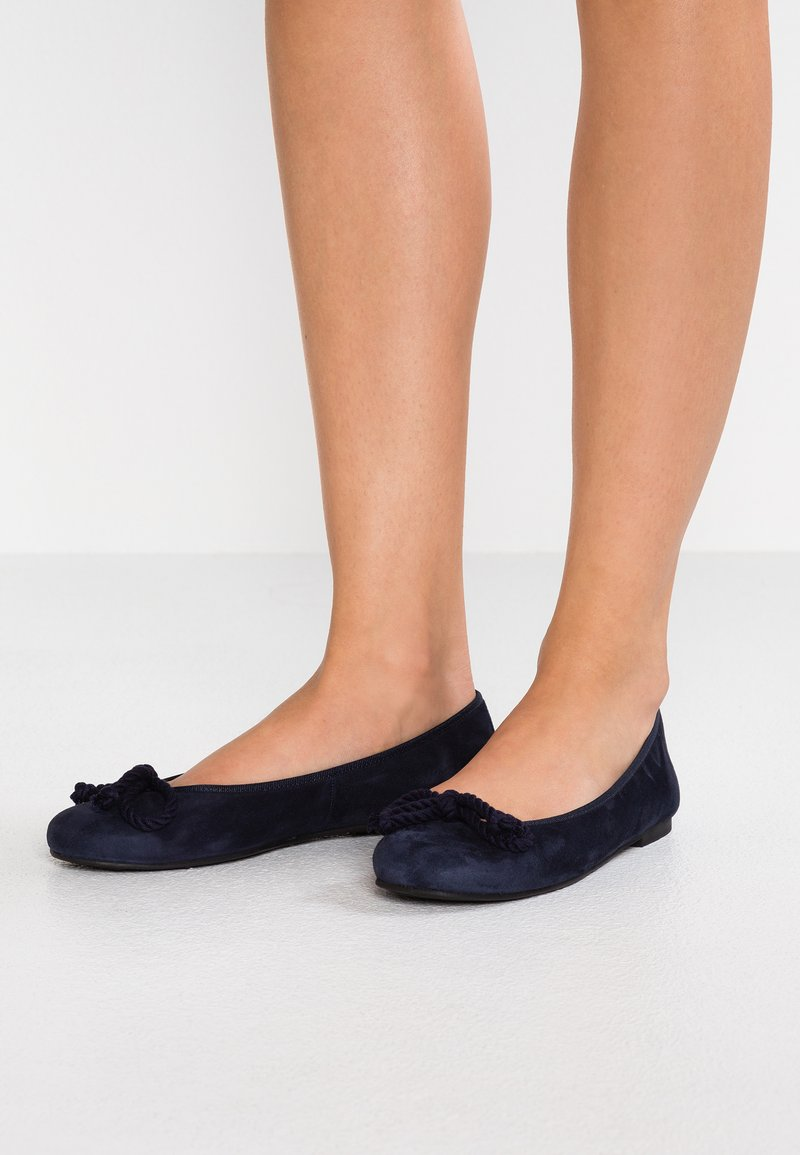 Pretty Ballerinas - ANGELIS - Ballet pumps - navy/blue