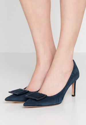 LINDA - Classic heels - night blue