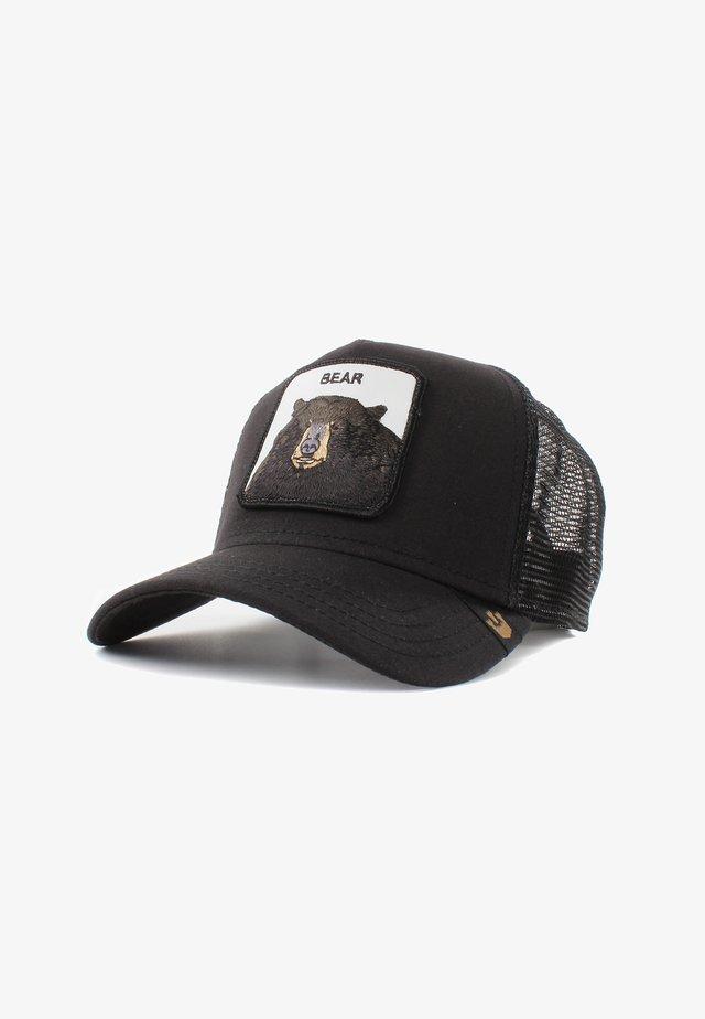 BLACK BEAR - Cap - black