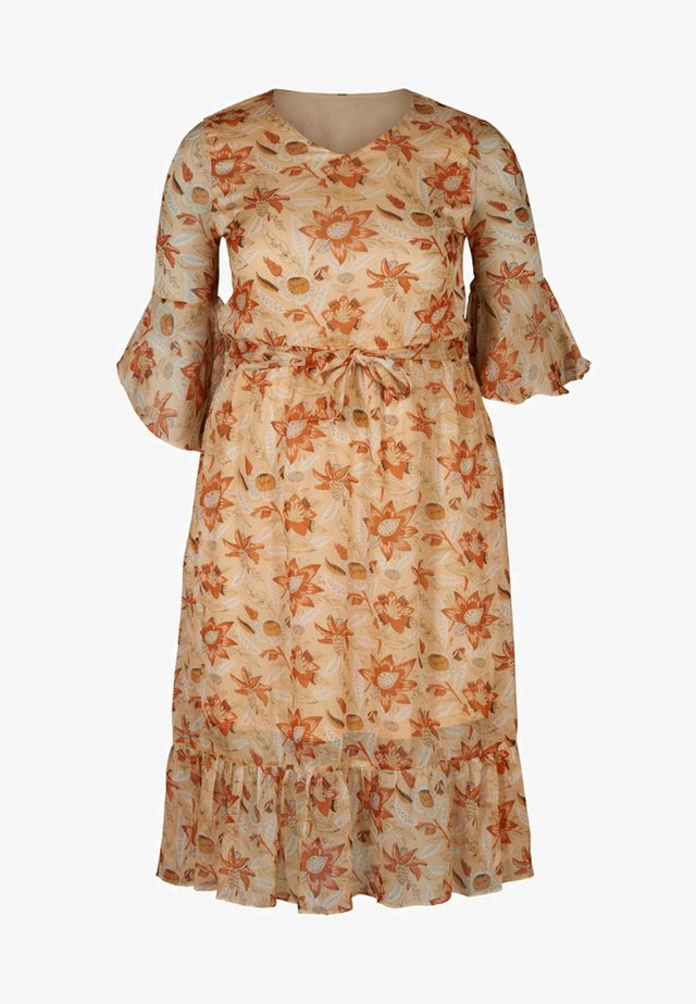 Robe d'été - orange