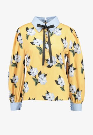 SPECTATE FLORAL PRINT COVEN - Blouse - yellow