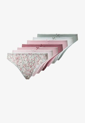 7 PACK FLORAL - Slip - multi-coloured