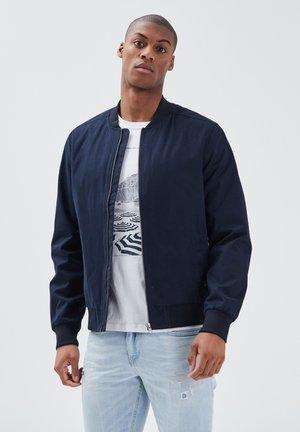 Bomber Jacket - bleu marine