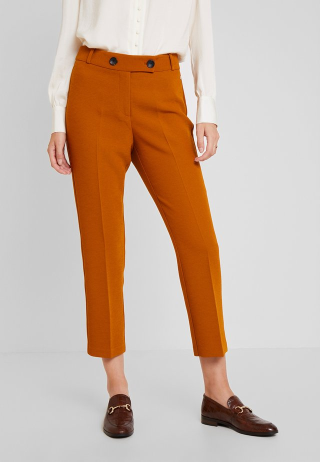 SMART PANT SUIT - Pantalon classique - browns