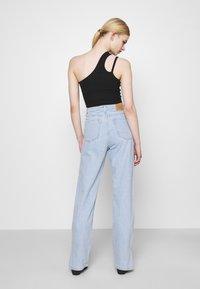 Weekday - ROWE SPLIT - Straight leg jeans - lula blue - 2