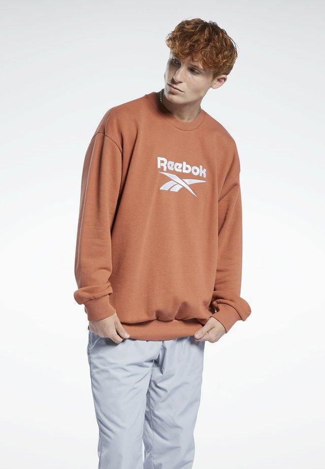 CLASSICS VECTOR CREW SWEATSHIRT - Sweatshirt - brown