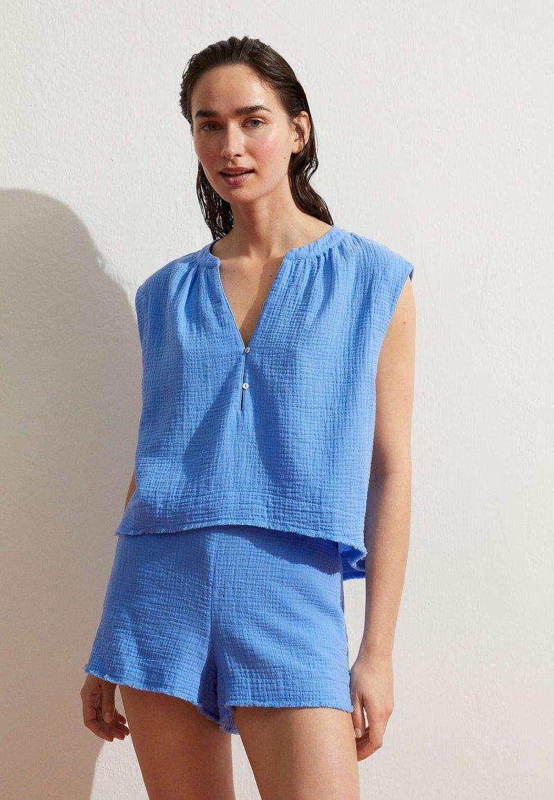 OYSHO - Shorts - blue