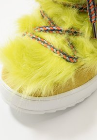 Colors of California - Lace-up ankle boots - lime - 5
