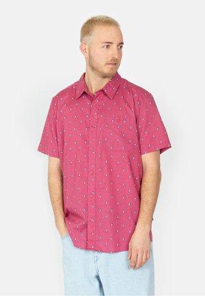 Shirt - blue prints micro / star pink