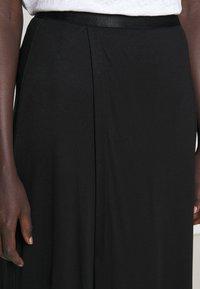 Filippa K - VIOLA SKIRT - Maxi skirt - black - 5