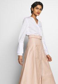Mykke Hofmann - RONA - A-line skirt - nude denim - 3