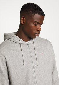 Tommy Jeans - CLASSICS ZIPTHROUGH - veste en sweat zippée - grey - 3