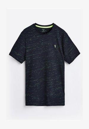 REGULAR FIT STAG - Print T-shirt - dark blue