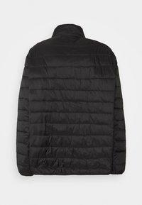 Burton Menswear London - BIG LIGHTWEIGHT PUFFER - Gewatteerde jas - black - 1